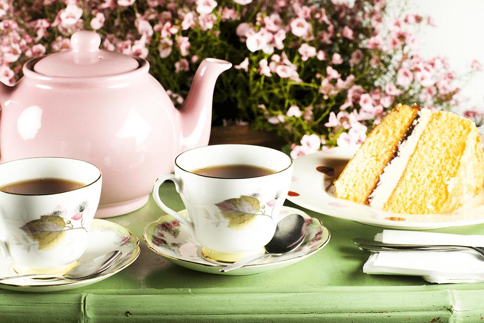 Tea at Coton Manor